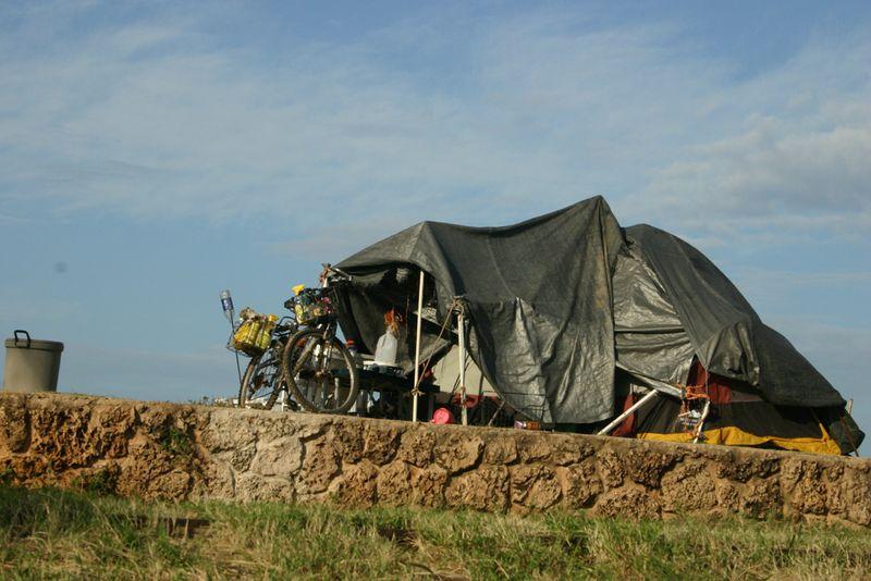 Sm tent bike