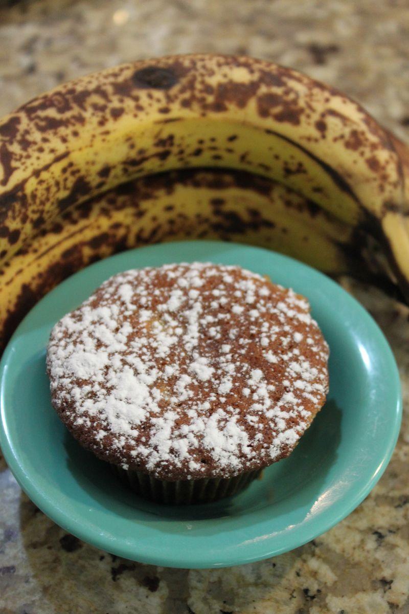 Bananas with cake