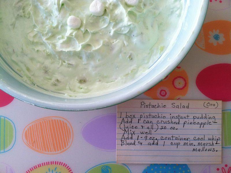 Pist salad recipe